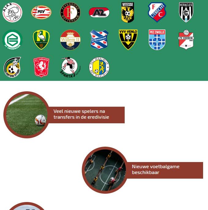 Portfolio website Eredivisietotaal